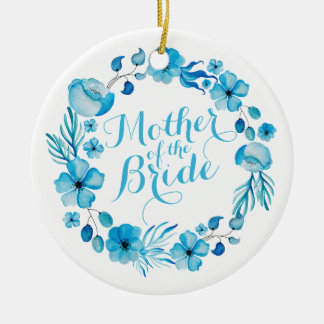 Mother of the Bride Watercolor   Ornament
