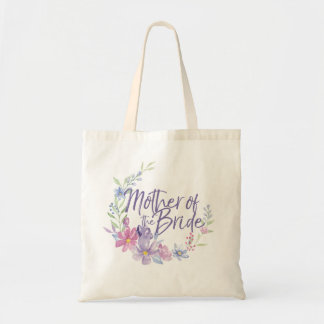 Mother of the Bride Watercolor Peonies WREATH Tote Bag