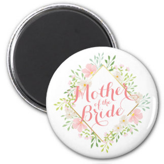 Mother of the Bride Watercolor Wedding Magnet