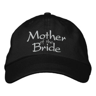 MOTHER OF THE BRIDE WEDDING CAP EMBROIDERED HAT
