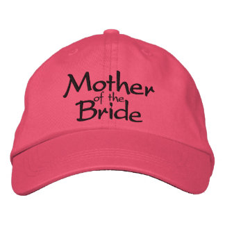 Mother of the Bride Wedding Embroidered Baseball Cap