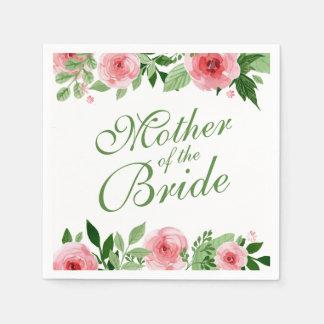 Mother of the Bride Wedding   Napkin Paper Napkins