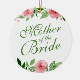 Mother of the Bride Wedding   Ornament