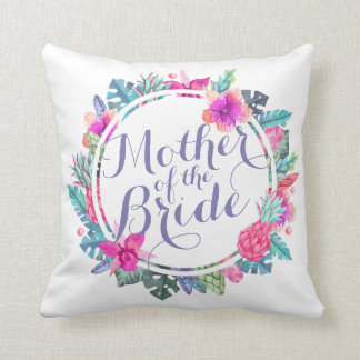 Mother of the Bride Wedding | Throw Pillow