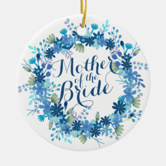 Mother of the Bride Winter Wedding   Ornament