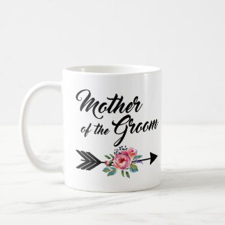 Mother of the Groom Arrow Coffee Mug