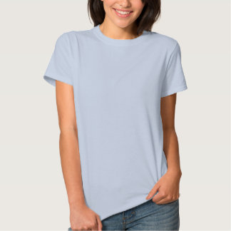 Mother of the Groom, Blue Scroll, back pattern T-shirt