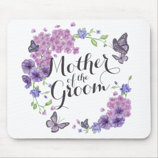 Mother of the Groom Butterflies Wedding | Mousepad