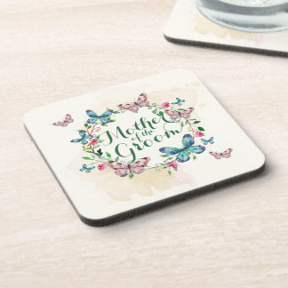 Mother of the Groom Butterfly Wreath | Coaster