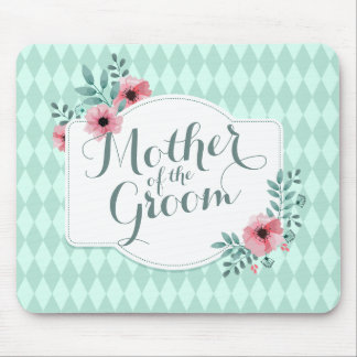 Mother of the Groom Elegant Wedding | Mousepad