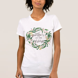 mother of the groom floral wreath -7 T-Shirt