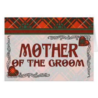Mother of the Groom Invitation - Bruce Tartan