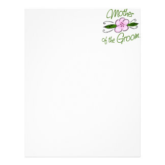 Mother of the Groom Customized Letterhead
