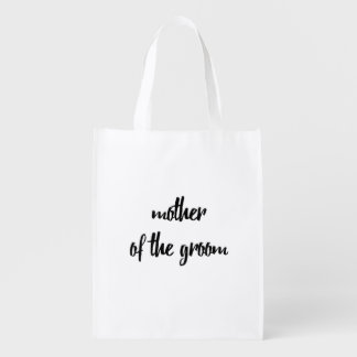 Mother of the Groom Reusable Bag - Wedding
