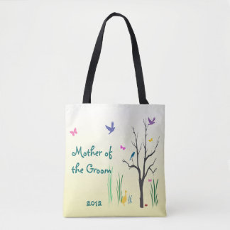 Mother of the Groom Springtime Wedding Tote Bag