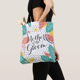 Mother of the Groom Tropical Summer Tote Bag