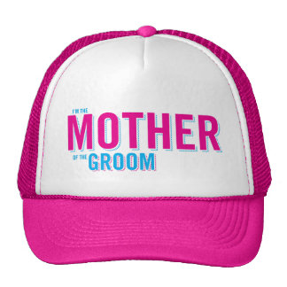 Mother of the Groom Trucker Hat