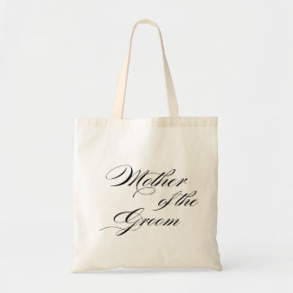 Mother of the Groom wedding gift tote