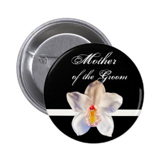 Mother Of The Groom Wedding ID Badge 2 Inch Round Button