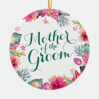 Mother of the Groom Wedding   Ornament
