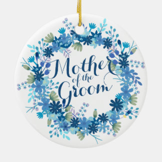 Mother of the Groom Winter Wedding   Ornament