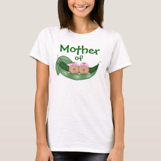 Mother of Twin Girls (darker skin) T-Shirt