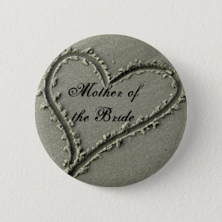 Mother ofthe Bride 2 Inch Round Button