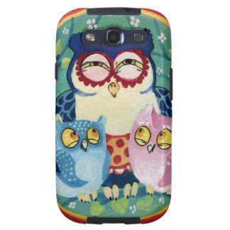 Mother owl samsung galaxy SIII cover