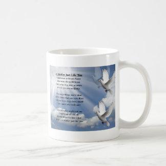 Mother poem - Doves Mug