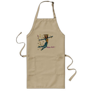 Mother' S Day Bag - Personalize Photo & Text Long Apron
