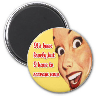 Mother s Day Happy Housewife Funny Retro Magnet