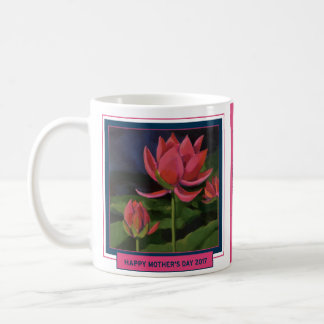 Mother's Day Mug, Water Lily,Thanks for Being You. Coffee Mug