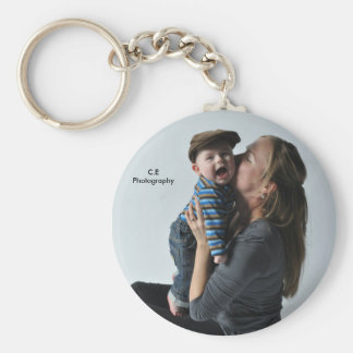 Mother & Son Keychain