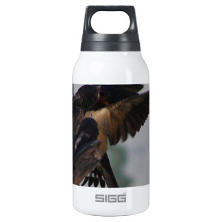 Mother swallow insulated water bottle