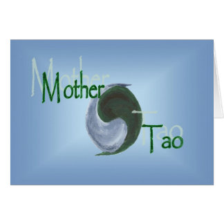 Mother Tao Yin Yang Greeting Card