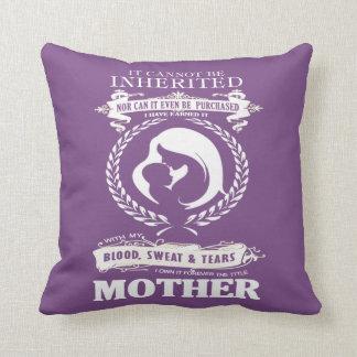 MOTHER THROW PILLOW