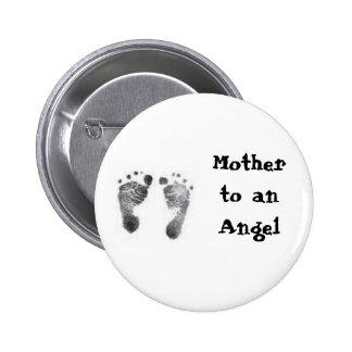 Mother to an Angel Button