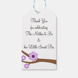 Mother to Be and her Little Sweet Pea Gift Tags Pack Of Gift Tags