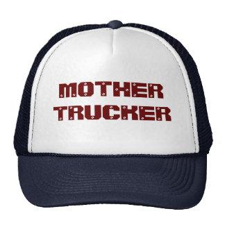 MOTHER TRUCKER TRUCKER HAT