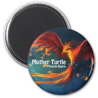Mother Turtle Products 2 Inch Round Magnet
