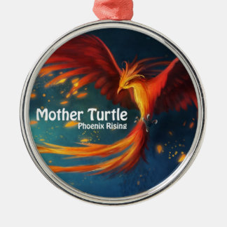Mother Turtle Products Metal Ornament