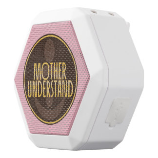 Mother Understand White Bluetooth Speaker