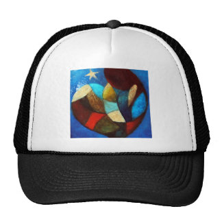 MOTHER WITH TRUCKER HAT