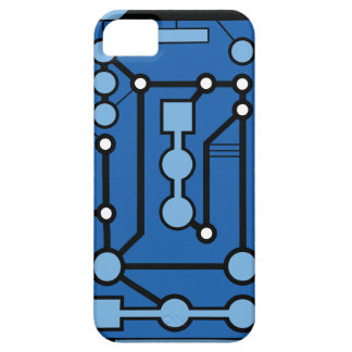 Motherbox Blue iPhone 5 Cover