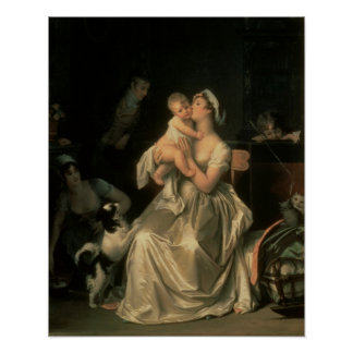 Motherhood, 1805 poster