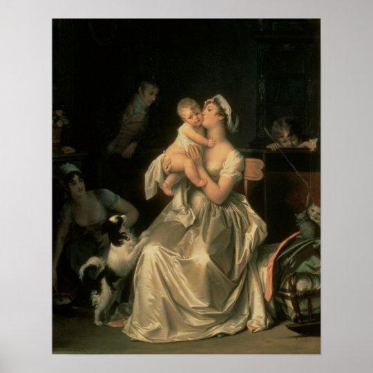 Motherhood, 1805 poster