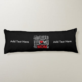 Motherhood - All the Amazing Things Mothers Do Body Pillow