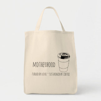 Motherhood fueled by love, sustained by coffee bag