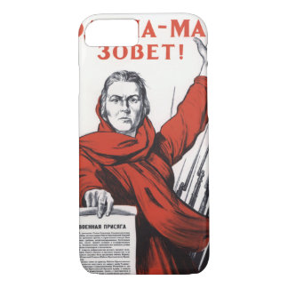 Motherland Calls iPhone 7 Case