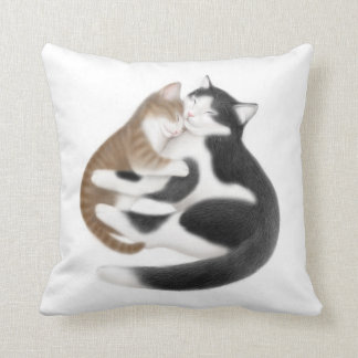 Motherly Love Cats Pillow
